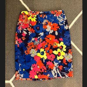 Loft pencil skirt - floral